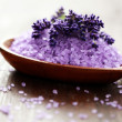 Royalty-Free Stock Photo: Lavender bath salt