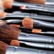Stock Photo: Make-up brushes