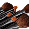Make-up brushes - Stock Photo