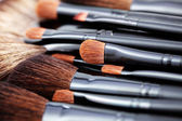 Make-up brushes — 图库照片