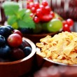 Cereals with berry fruits — Stock Photo #3525599