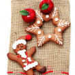 Christmas gingerbread — Stock Photo #3634084
