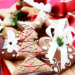 Christmas gingerbread - Stock Photo