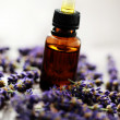 Lavender massage oil — Stock Photo #3641820