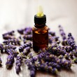 Lavender massage oil — Stock Photo #3641831