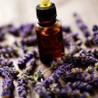 Lavender massage oil — Stock Photo #3641850