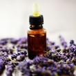 Lavender massage oil — Stock Photo #3641861