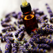 Lavender massage oil — Stock Photo #3641873