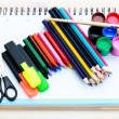School supplies — 图库照片