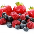 Berry fruits — Stock Photo