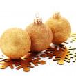 Golden balls — Stock Photo #3943052