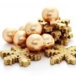 Golden balls — Stock Photo #3943296