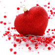 Red heart ball — Stock Photo #3943403