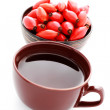 Rose hips tea — Stock Photo