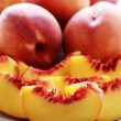 Fresh peaches — Stock Photo #3985199