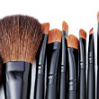 Make-up brushes - Foto Stock
