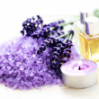 Lavender spa - Stock Photo