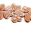 Gingerbread hearts — Stock Photo #4162851