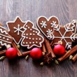 Christmas cookies — Stock Photo #4166813
