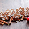 Christmas cookies — Stock Photo #4166869