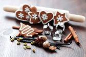 Christmas baking — Stok fotoğraf