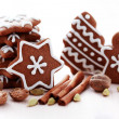 Christmas gingerbreads — Stock Photo