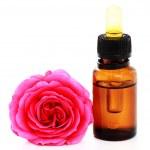 Rose essential oil — Stock Photo #4283187