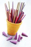 Tütsü çubukları — Stok fotoğraf