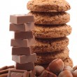 Royalty-Free Stock Photo: Cookies and chocolate