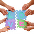 Love concept - Stockfoto