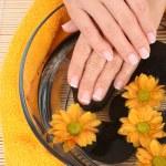 Beautiful hands — Stock Photo