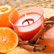 Royalty-Free Stock Photo: Tangerine bath