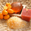 Kumquat bath — Stock Photo