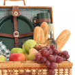 Picnic basket — Stock Photo #4457719