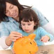 Family savings — Stock Photo