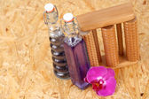 Bottles of cosmetic — Stock Photo