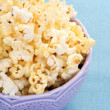 Bowl of popcorn - Stock Photo