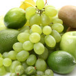 Royalty-Free Stock Photo: Various green fruits