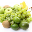 Various green fruits — Stock Photo