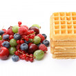 Waffles - Stock Photo