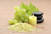 Grape bath — Stock Photo