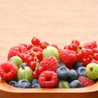 Bowl of berry fruits — Stock Photo #4480186