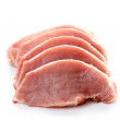 Raw pork — Stock Photo #4481410