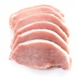 Raw pork — Stock Photo #4481482