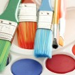 Watercolour paints — Stock Photo