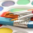 Watercolour paints — Stock Photo #4486888