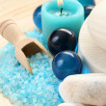 Blue bath — Stock Photo