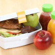 Royalty-Free Stock Photo: Lunch box