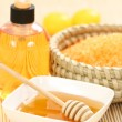 Honey spa - Stock Photo