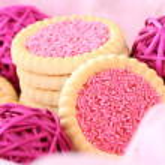 Pink cookies — Stock Photo #4498390